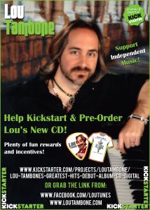 Kickstart Lou Tambone's CD!